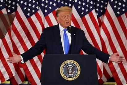 Trump Tweets Flags Victory Vote Count Members