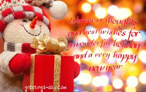 warmest thoughts   wishes   wonderful holiday