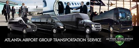 Airport Transportation Service by Atlanta Executive Transportation Services
