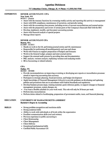 Resume Cpa by Cpa Resume 8 Technical Resume