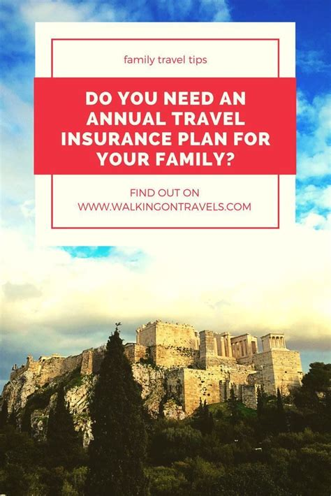 You may have coverage from other sources that. When Does Your Family Need an Annual Multi Trip Insurance Plan?   Family travel, Family vacation ...