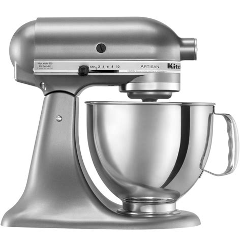 Kitchenaid Ksm150pscu Contour Silver Artisan Series 5 Qt