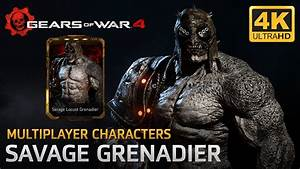 Gears Of War 4 Multiplayer Characters Savage Locust