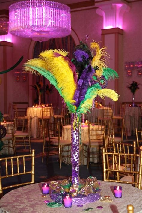 Mardi Gras Themed Sweet 16 In The Grand Ballroom At Event