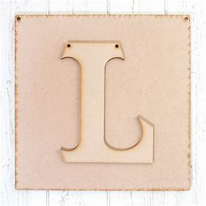 An alphabet mdf plaque and letter anna marie designs for Letter plaques