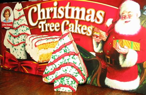 the holidaze little debbie christmas tree cakes