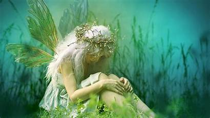 Fairy Fantasy Fairies Wallpapers Sad Forest Backgrounds