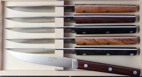 atelier cuisine clermont ferrand couteaux de table manche bois couteau ikuzo f verdier coffret couteaux de table