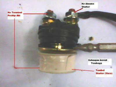 solusi battery modifikasi bendik switch stater motor