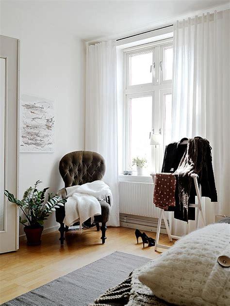 A warm interior design with ikea furniture