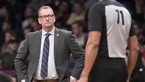 Toronto Raptors coach Nick Nurse and Atlanta Hawks guard ...