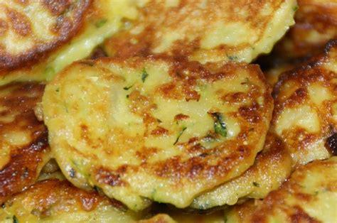 galettes de courgettes et pommes de terre
