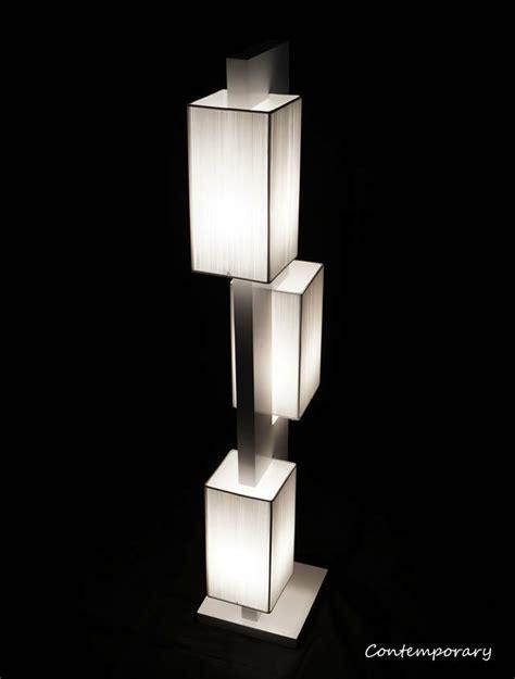 white modern contemporary floor lamp zkl lighting