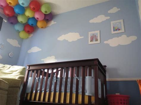 nautical themed nurseries sky is the limit with cloud wall stencils for up themed
