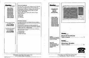 Download Danby Air Conditioner Dac10003d Manual And User