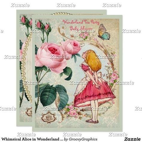 create   invitation zazzlecom tea party baby