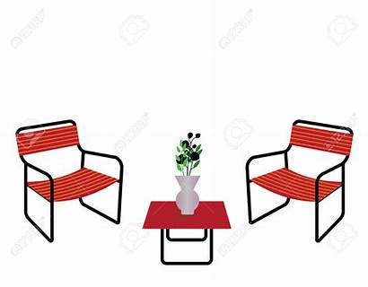 Clipart Seating Outdoor Table Vase Flower Background