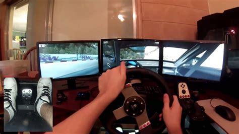 raceroom racing experience logitech  surround