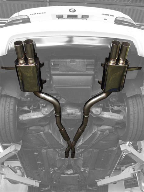 M5 Exhaust by Rogue Engineering Diablo Exhaust For 1999 2003 Bmw M5 E39
