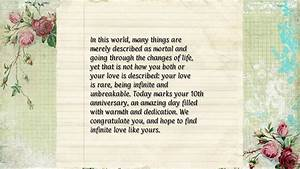 10th year wedding anniversary message for my husband anniversary