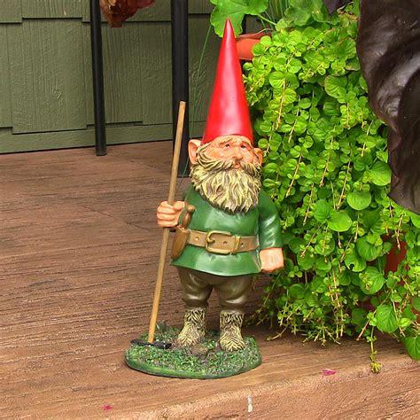 woodland garden gnomes lawn accent decor