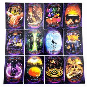 48cards Witches Wisdom Oracle Cards