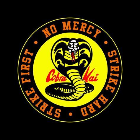 cobra kai snake logo  mercy cloud city