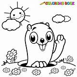 Coloring Gopher Colouring Pages Kidspressmagazine Activities sketch template