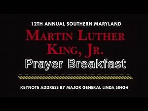 12th Annual Martin Luther King, Jr. Prayer Breakfast - YouTube