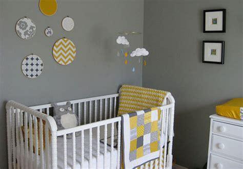 chambre bébé neutre déco chambre garcon jaune exemples d 39 aménagements