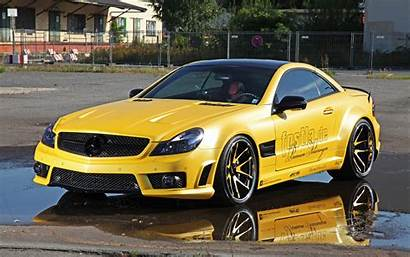 Mercedes Gold Benz Amg Sl Liquid R230