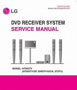 Lg Ht953tv Home Cinema System Original Service Manual And