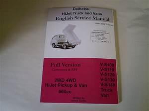 Daihatsu Hijet Service Manual