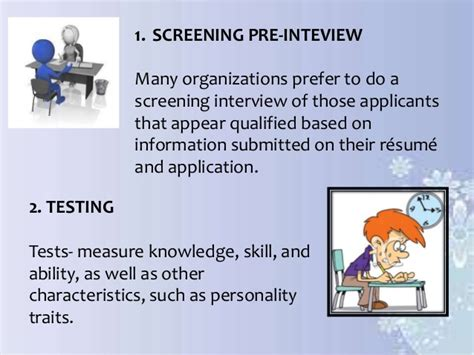 recruitment screening and selection process in philippine