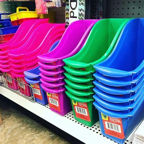 book bin colors   dollar tree book bins home organization dollar tree
