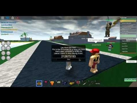 roblox  codes  idspart  youtube