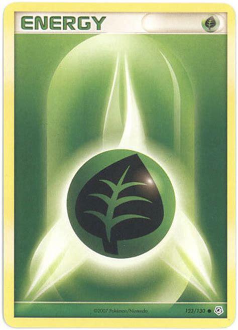 pokemon card grass energy green bbtoystorecom toys