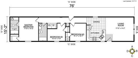single wide mobile home floor plans bestofhouse net 34265 - Single Wide Mobile Home Interior Design