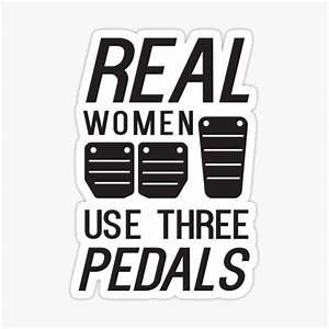 Use Three Pedals Stickers