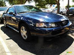 2003 Ford Mustang V6 Convertible in True Blue Metallic - 398576 | Jax Sports Cars - Cars for ...