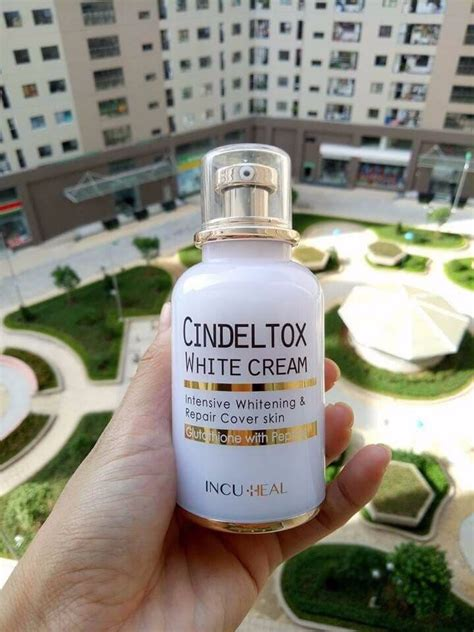 détox 3 jours kem dưỡng trắng da cindel tox white 50ml urashop