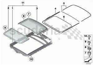 Rolls Royce Ghost Panorama Glass Roof Parts
