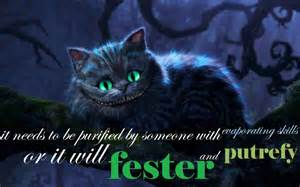 Alice and Wonderland Cheshire Cat Quotes