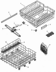 Rail  U0026 Rack Assembly Diagram  U0026 Parts List For Model
