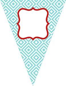 free printable birthday banner paper crafts