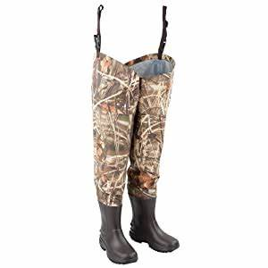 Amazon Com Hodgman Waterfowl Breathable Hip Wader With
