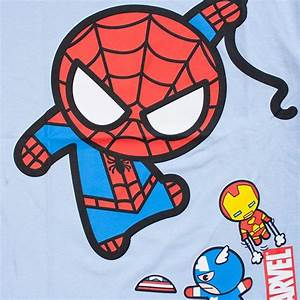 chibi ninja turtles | Marvel Spiderman Flyby TShirt ...