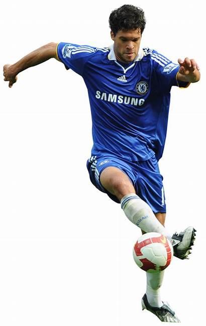 Player Chelsea Football Ballack Michael Transparent Team