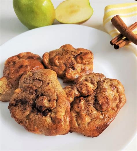 air fryer apple fritter recipe nutrisystem leaf fritters calories classic