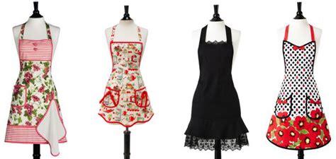 apron designs and kitchen apron styles kitschy vintage style kitchen apron review 9036